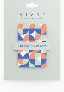 Vivre Active Wear Gift Card