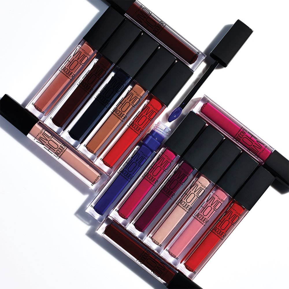 Maybelline Hot Vivid Lacquer Lipgloss