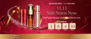 Clarins Singapore Singles Day Sale