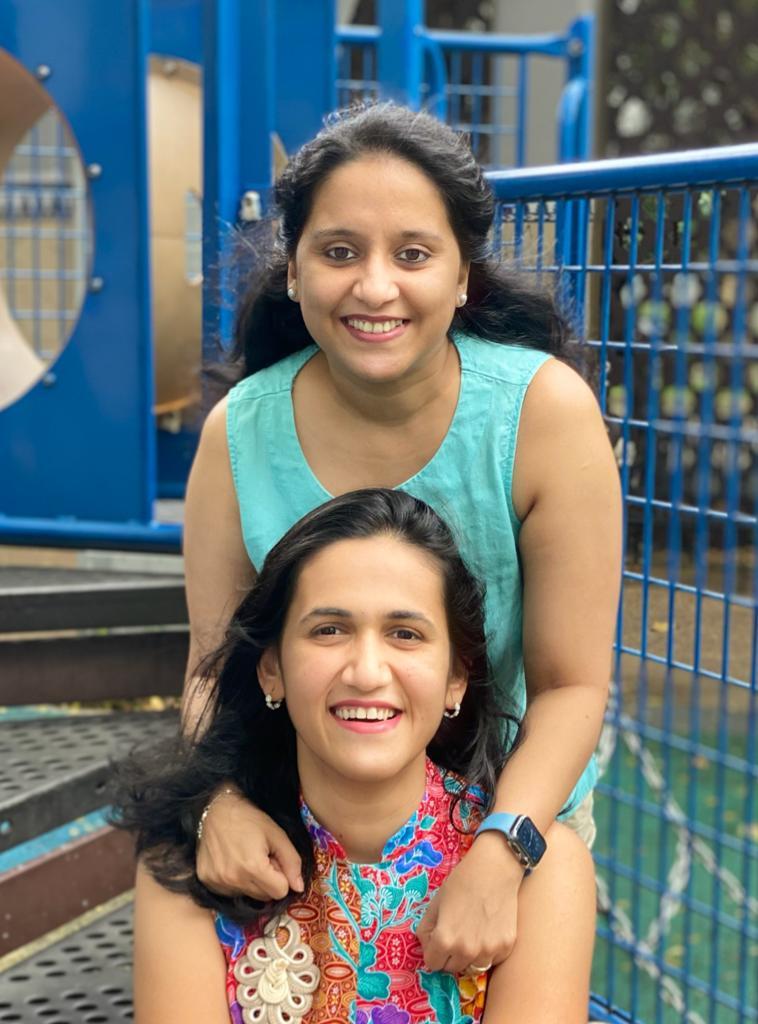 Himani and Kalyani