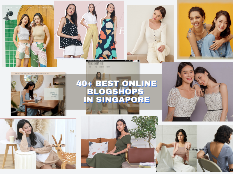 Best Online Blogshops In Singapore