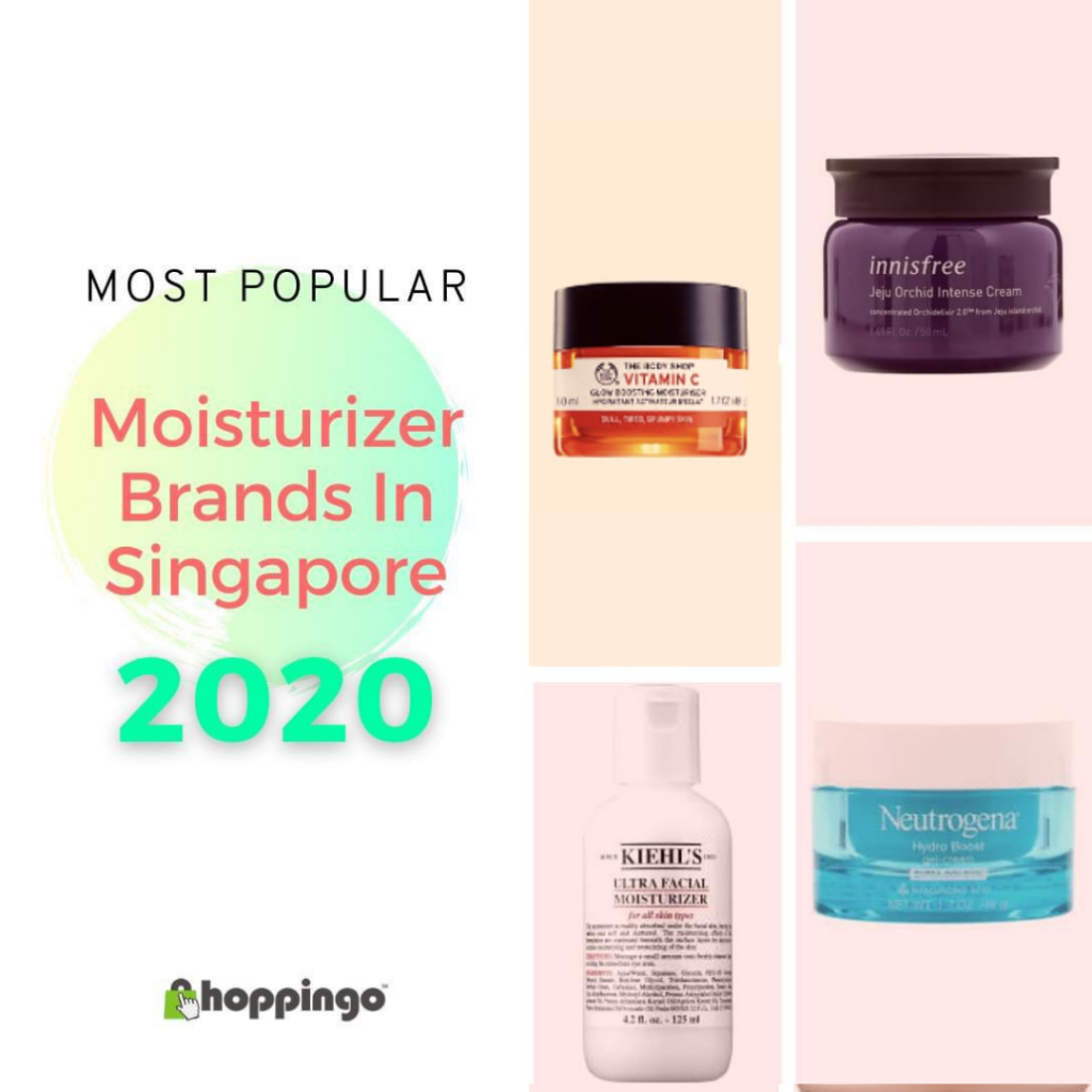 Most Popular Moisturizer Brands in Singapore