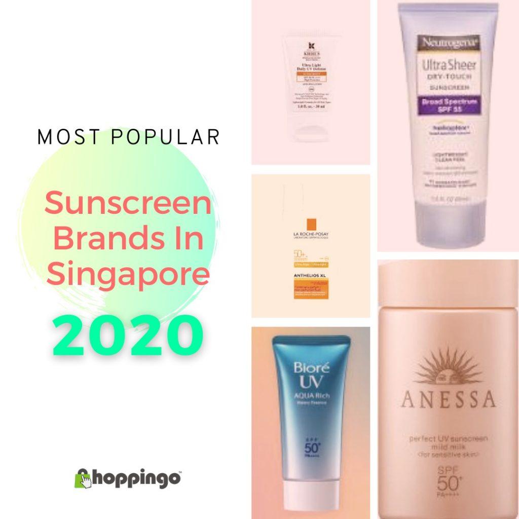 Most Popular Sunscreen Brands